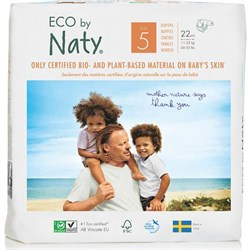 Eco By Naty Bebek Bezi - Junior (No: 5) (11-25 kg) - 22 adet