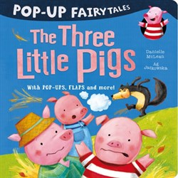 Little Tiger Pop-Up Fairytales: The Three Little Pigs