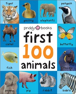 Priddy Books First 100 Padded: Animals