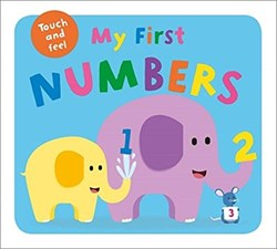 Priddy Books My First Touch and Feel Numbers